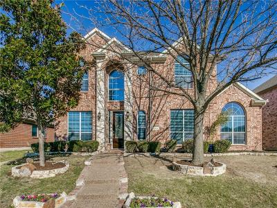 Frisco Single Family Home Active Option Contract: 12484 Littlefield Drive