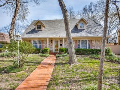Dallas Single Family Home For Sale: 8218 San Cristobal Drive