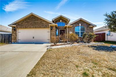 Anna Single Family Home For Sale: 1409 Cottonwood Trail
