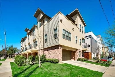 Dallas Condo For Sale: 5903 Lindell Avenue #E