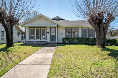 Dallas County Single Family Home For Sale: 1302 E Waco Avenue