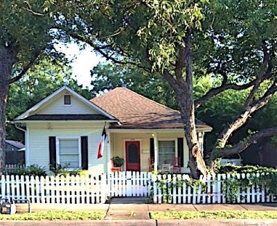 Tarrant County Single Family Home Active Option Contract: 409 E Worth Street