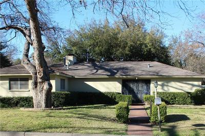 Fort Worth Single Family Home For Sale: 5400 El Dorado Drive