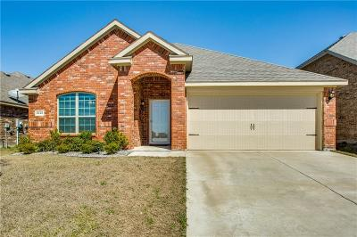 Forney Single Family Home Active Option Contract: 2440 Willard Way