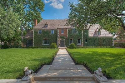 Collin County, Denton County, Tarrant County Single Family Home For Sale: 22 Valley Ridge Road