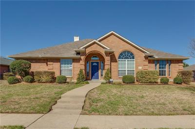 Sachse Single Family Home For Sale: 3715 Blossom Drive