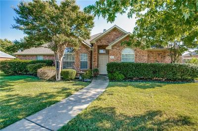 Sachse Single Family Home Active Option Contract: 4410 Briarcrest Lane