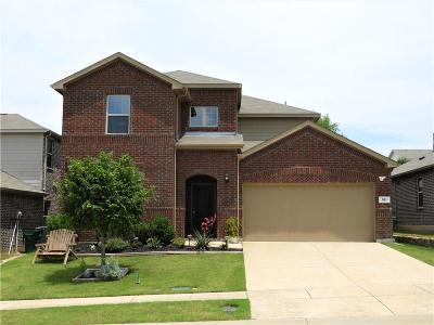 Aubrey Single Family Home For Sale: 521 Cheyenne Drive