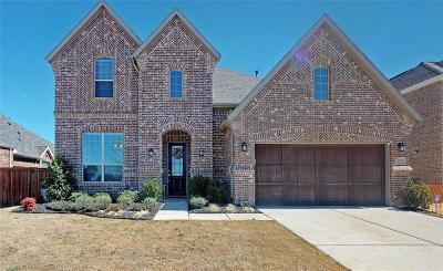 Prosper Single Family Home For Sale: 1101 Cassiano Lane