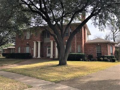 Farmers Branch Single Family Home For Sale: 3506 Woodhaven Drive