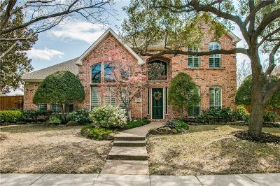 Plano TX Single Family Home Active Option Contract: $625,000