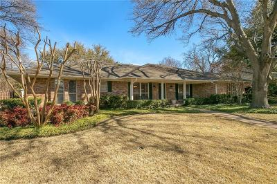 Dallas Single Family Home For Sale: 7723 Chalkstone Drive