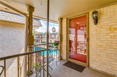 Fort Worth Condo For Sale: 4320 Bellaire Drive S #217