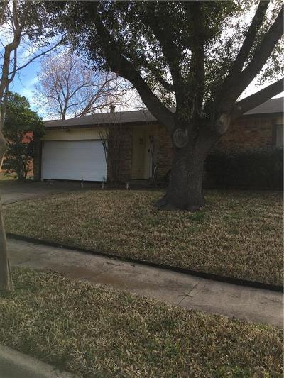 Garland Single Family Home Active Option Contract: 6026 Highcrest Drive