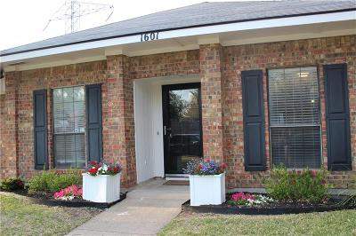 Richardson Single Family Home For Sale: 1601 Barclay Drive