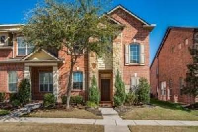 Irving Townhouse For Sale: 8644 Iron Horse Drive
