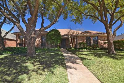 Richardson Single Family Home Active Option Contract: 3208 Foxcreek Drive