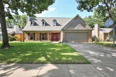 Grapevine Single Family Home Active Option Contract: 527 Chasewood Drive