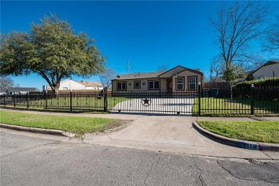 Dallas Single Family Home Active Option Contract: 512 Dogwood Trail