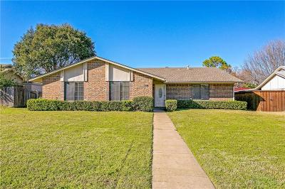 Richardson Single Family Home Active Option Contract: 1809 Windsong Trail