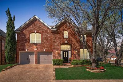 Addison Single Family Home Active Option Contract: 3760 Woodshadow Lane