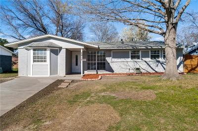 Mesquite Single Family Home For Sale: 2412 Bamboo Street