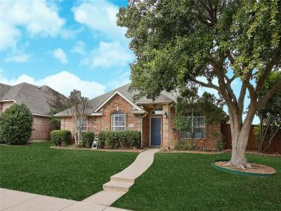 Frisco Single Family Home Active Option Contract: 10612 Robincreek Lane