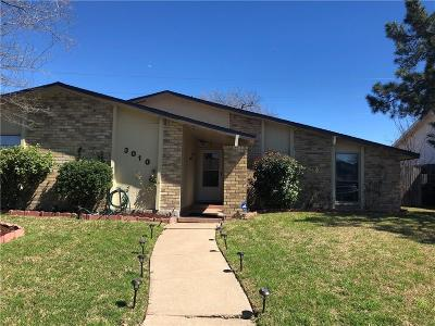 Garland Single Family Home For Sale: 3010 Flameleaf Street