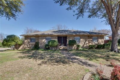 Garland Single Family Home Active Option Contract: 1702 High Point Circle