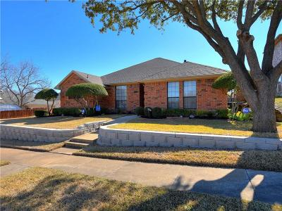 Garland Single Family Home Active Option Contract: 4929 Portola Drive
