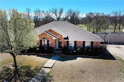 Kennedale Single Family Home Active Option Contract: 1248 Elmbrook Drive