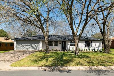 North Richland Hills Single Family Home Active Option Contract: 6905 Marilyn Lane
