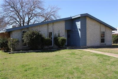 Garland Single Family Home Active Option Contract: 3438 Flagstone Drive