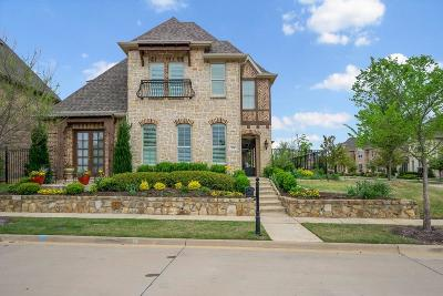 Southlake Single Family Home Active Option Contract: 416 Montpelier Drive