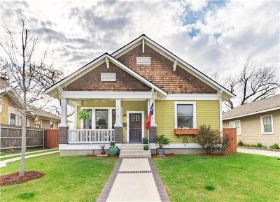 Fort Worth Single Family Home For Sale: 2114 Hurley Avenue