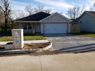 Fort Worth Single Family Home For Sale: 3320 Hanger Avenue