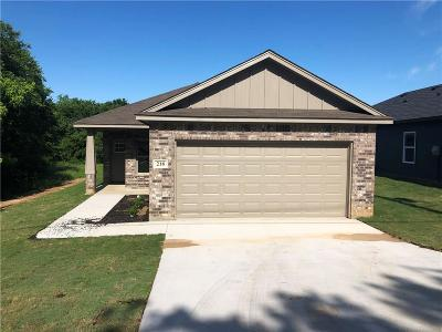 Johnson County Single Family Home For Sale: 218 S Preston Drive