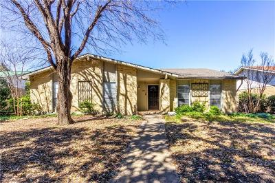 Carrollton Single Family Home For Sale: 1835 Chamberlain