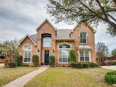 Plano Single Family Home Active Option Contract: 2640 Millington Drive