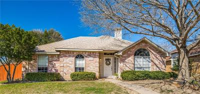 Frisco Single Family Home Active Option Contract: 8270 Hidden Spring Drive