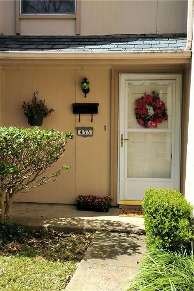Garland Townhouse For Sale: 433 Arborview Drive