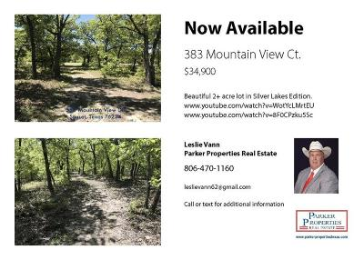 Montague County Residential Lots & Land For Sale: 383 Mountain View Ct.
