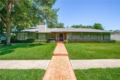 Dallas Single Family Home For Sale: 3931 Fairfax Avenue