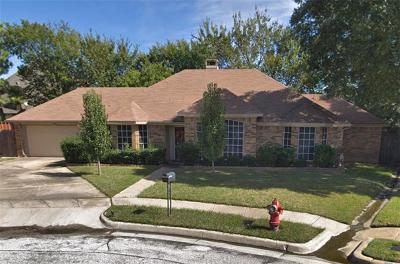 Bedford Single Family Home For Sale: 2620 Willow Crest Court