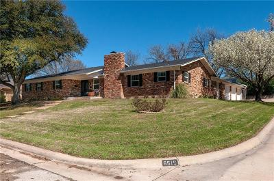 Fort Worth Single Family Home For Sale: 6519 Sabrosa Court W