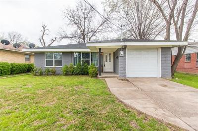 Dallas Single Family Home For Sale: 2103 Boyd Street