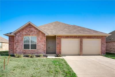 Waxahachie Single Family Home Active Option Contract: 110 Cantle