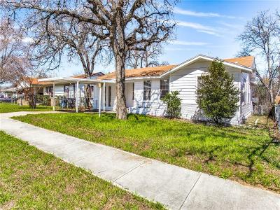Fort Worth Single Family Home For Sale: 4245 Carol Avenue