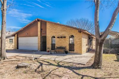 Grand Prairie Single Family Home For Sale: 2838 Santa Rita Drive