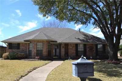 Carrollton  Residential Lease For Lease: 3813 Vista Woods Drive